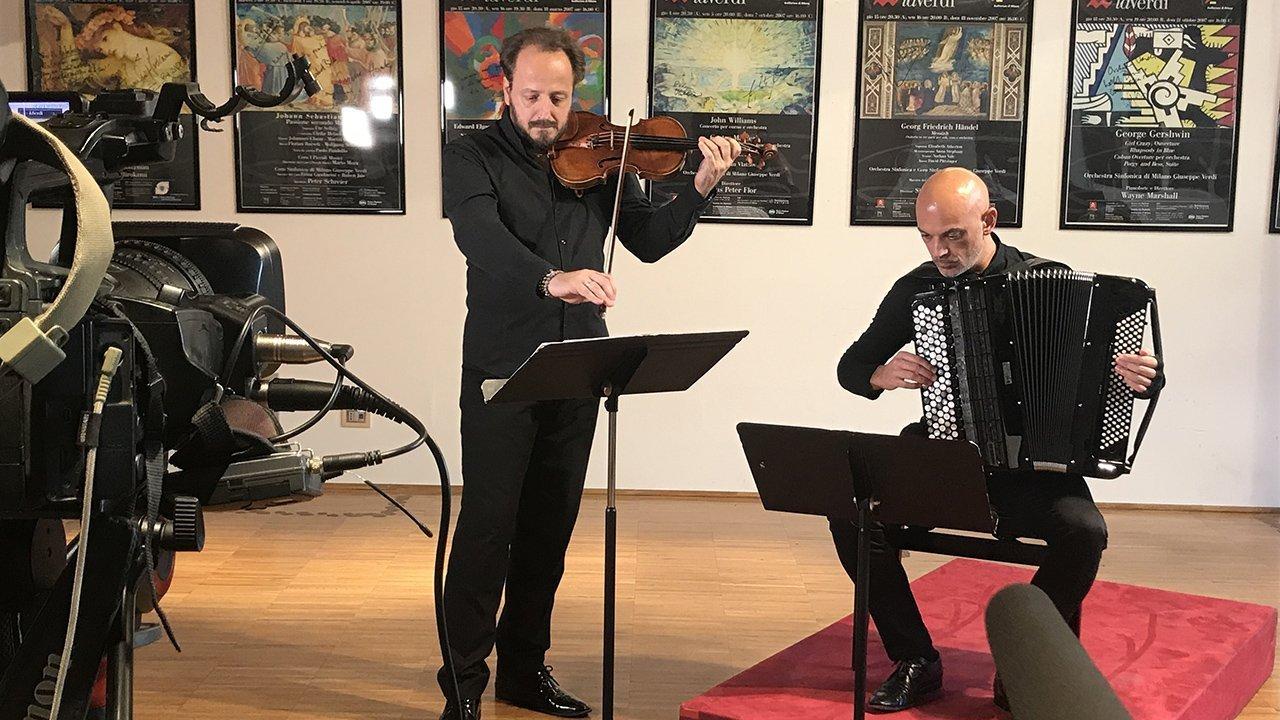 Luca Santaniello e Davide Vendramin