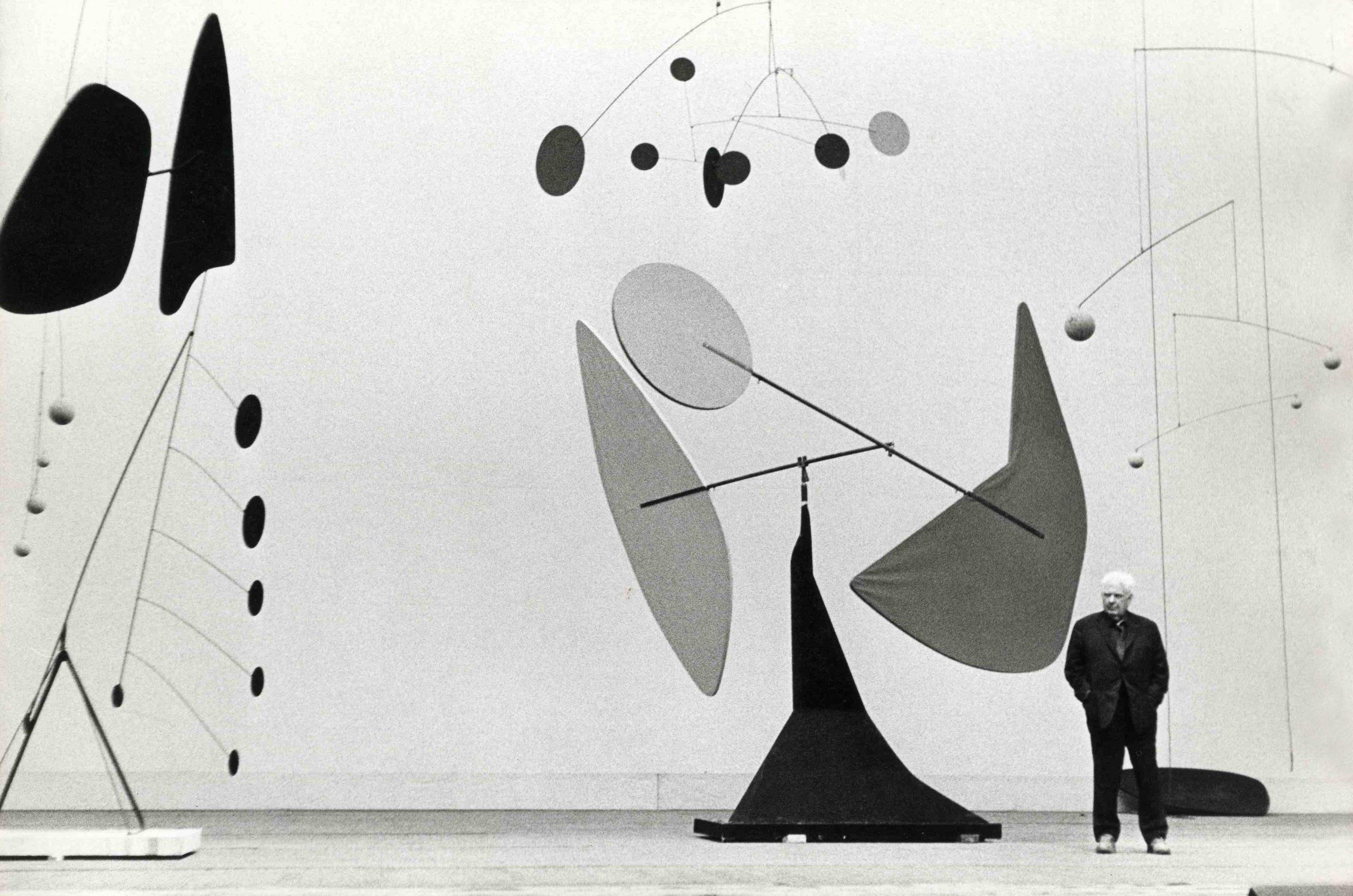 Alexander Calder, Work in progress