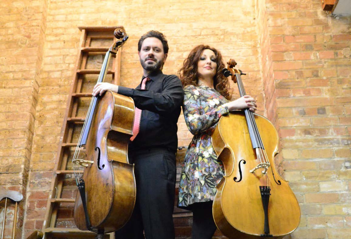 Mr. & Mrs. Cello: Fulvia Mancini e Massimiliano Martinelli in scena a Regina Musica