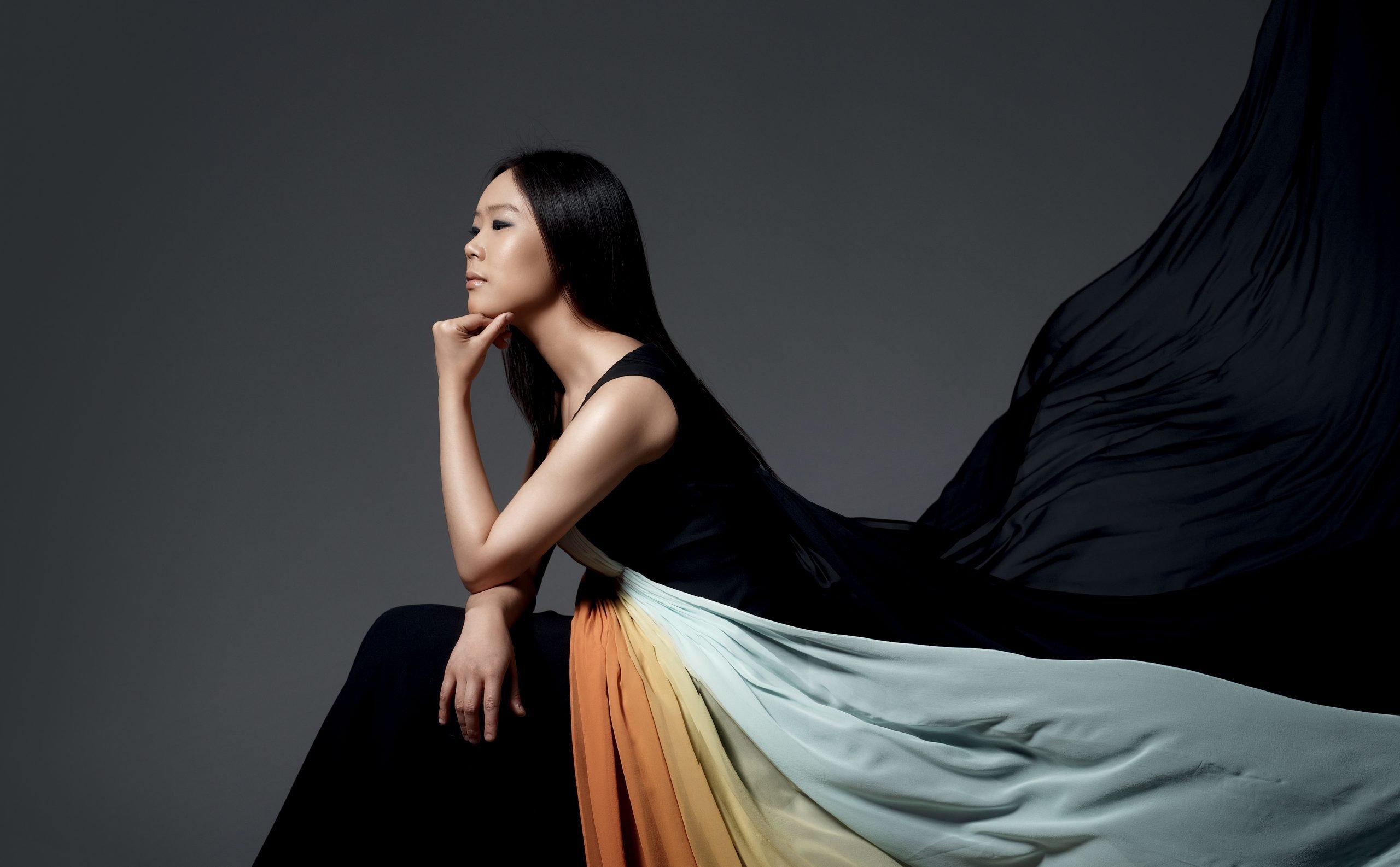 la pianista della Corea Yeol Eum Son, presidente di giuria del Concorso Busoni 2018