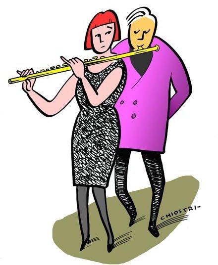 Aretha Franklin e Charles Aznavour
