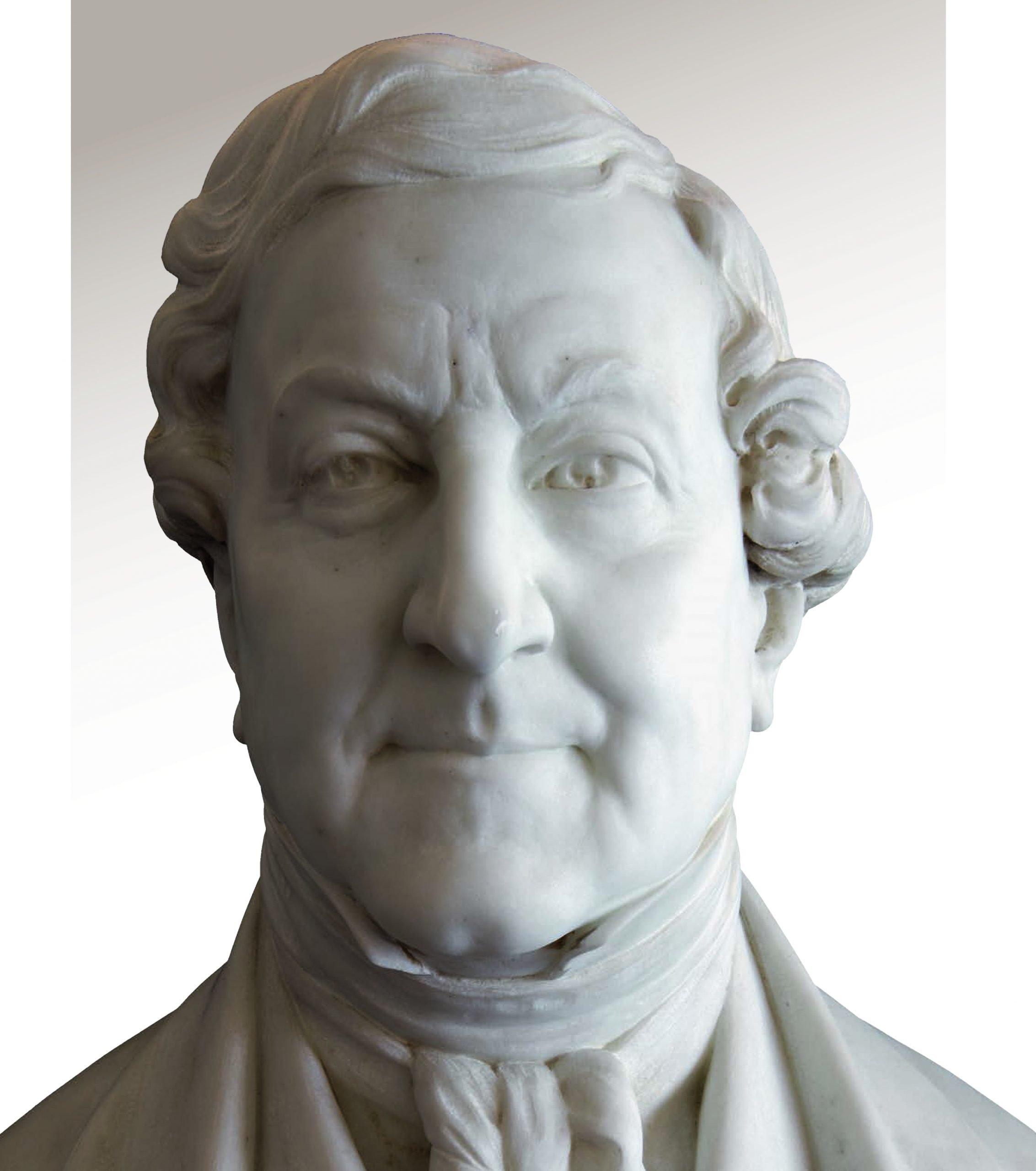 Valmore Gemignani (1878-1956), Gioachino Rossini, busto in marmo