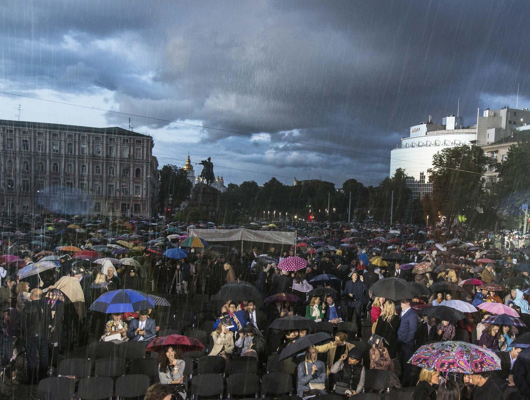 Ucraina, il concerto per la pace con Riccardo Muti