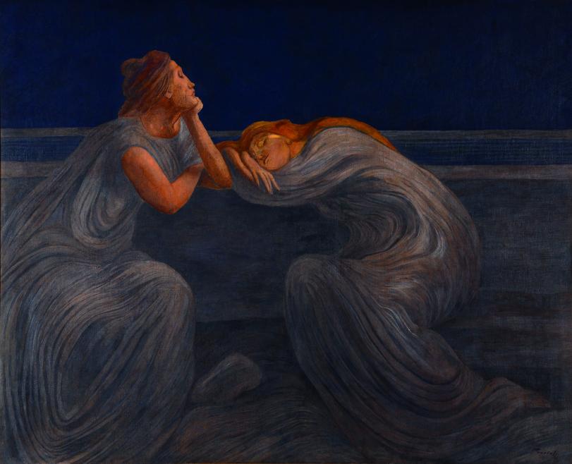 Gaetano Previati, Notturno, 1908 mostra Puccini e le arti visive