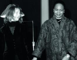Barbara Hendricks con Isabelle Huppert al Verbier Festival
