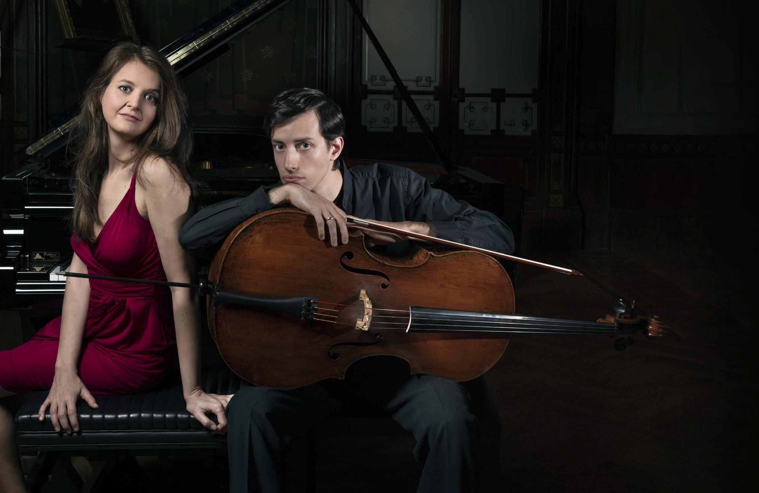 Luca Colardo e Sandra Conte