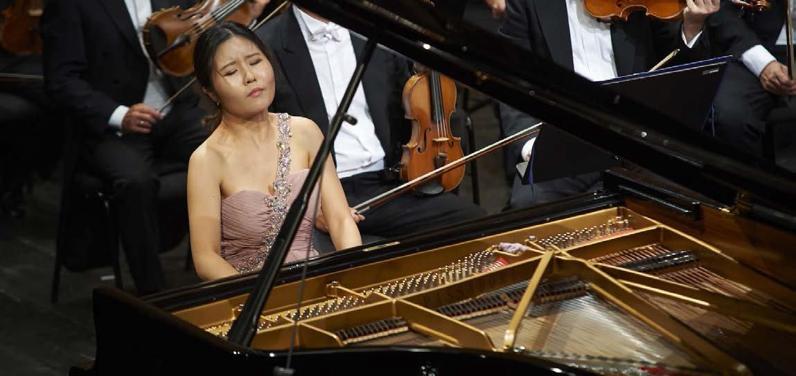 Chloe Mun, pianista classica proveniente dalla Corea del Sud